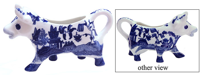 Blue Willow Ware Blue Willow Cow Creamer