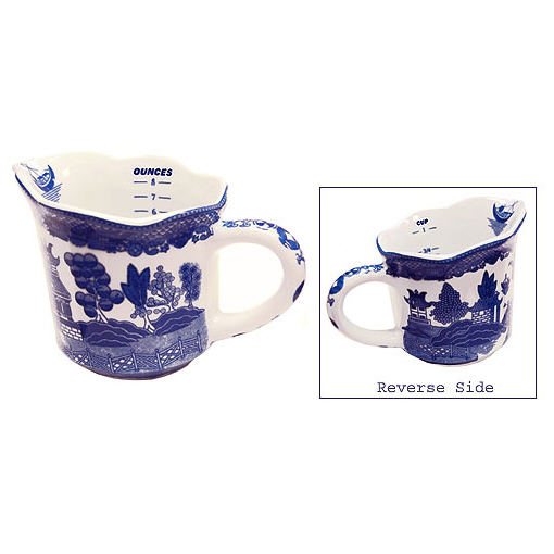 Blue Willow Ware 3 3 4h Measuring Cup
