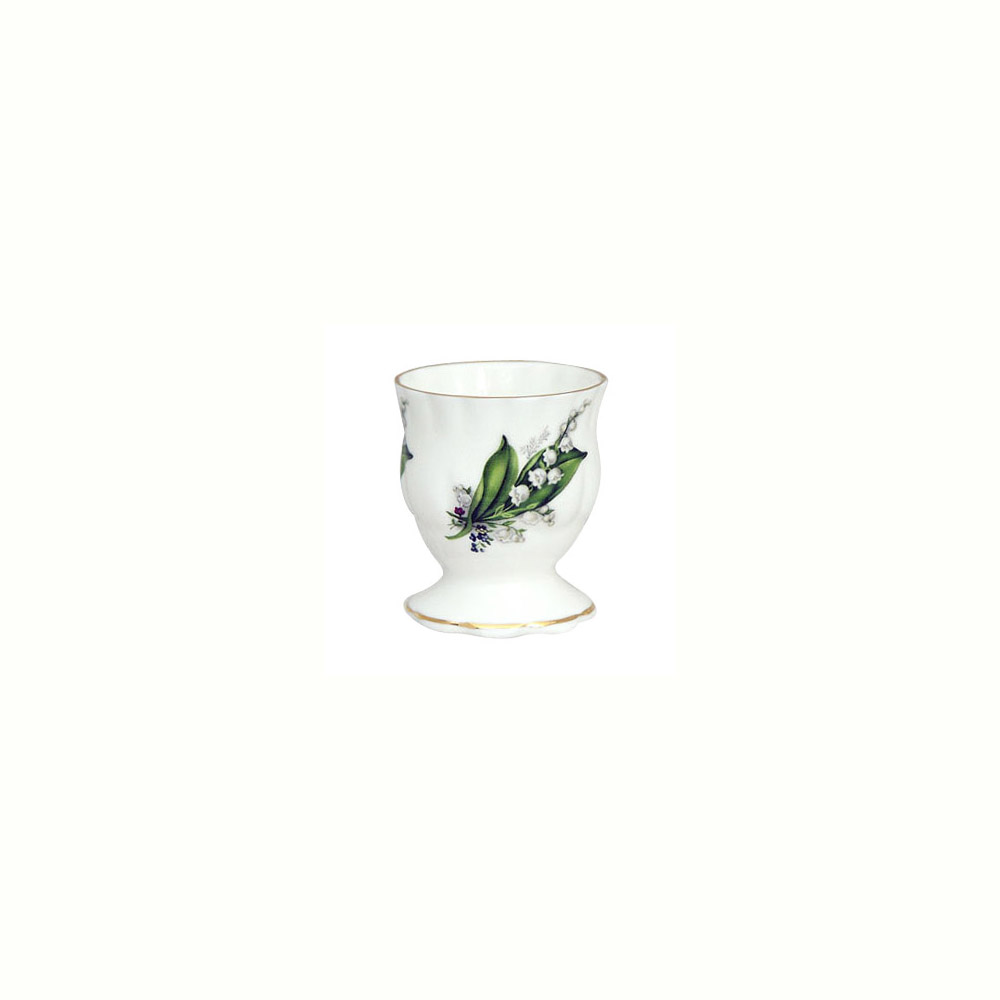 Egg Cup - Lily of the Valley