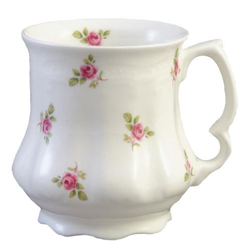 Dot Rose Victorian Tankard Mug