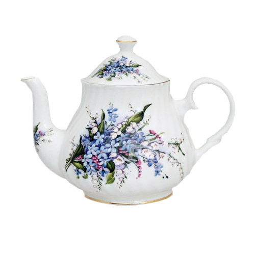 Forget Me Not 6-Cup Teapot