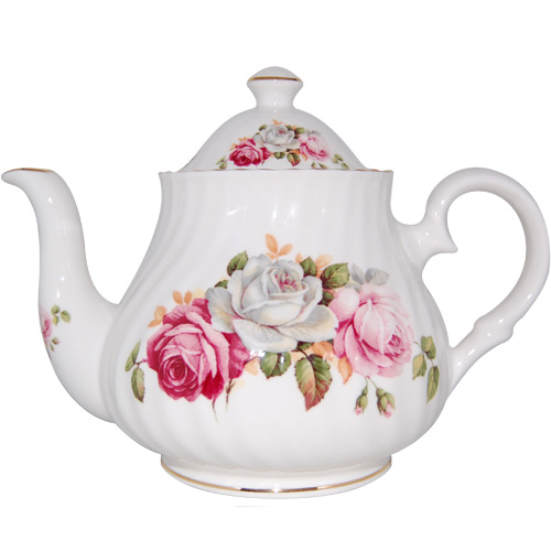 Summer Bloom 6-Cup Teapot