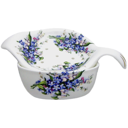 Forget-Me-Not Tea Strainer