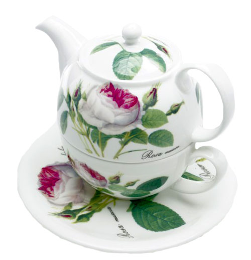 Redoute Rose Tea for One