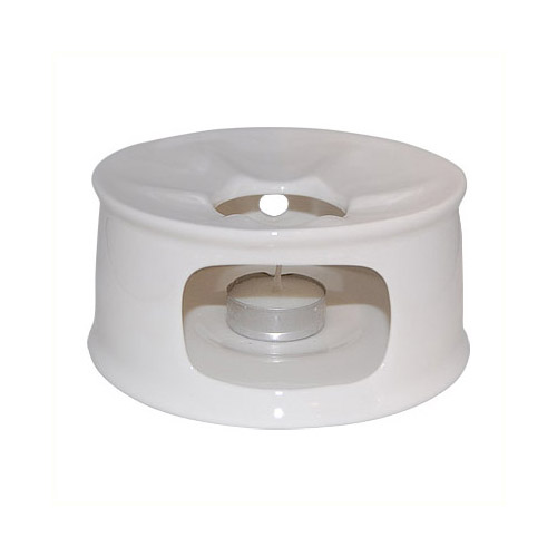 Plain White Fine Bone China Teapot Warmer