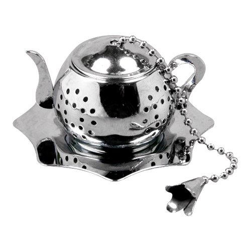 Stainless Steel Infuser - Teapot Shape