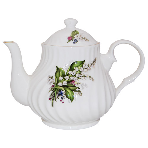 Lily of the Valley Teapot, 4-Cup