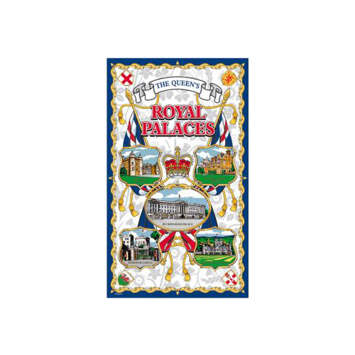 British Royal Palaces Tea Towel