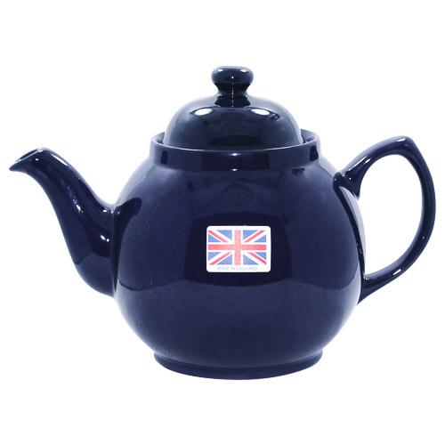 Cobalt Blue 2 Cup Brown Betty Teapot
