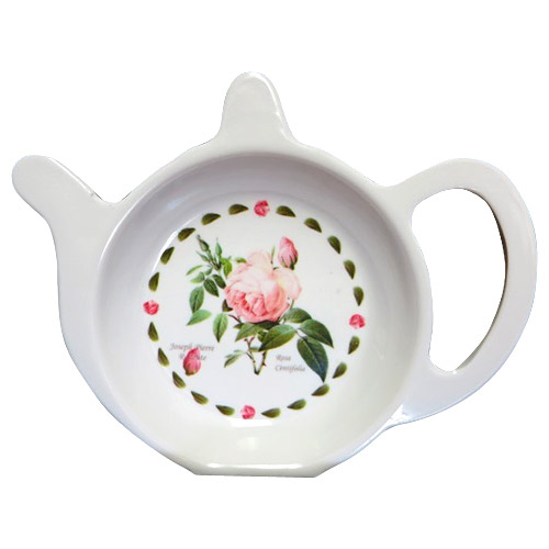 Redoute Rose - Melamine Tea Bag Tidy
