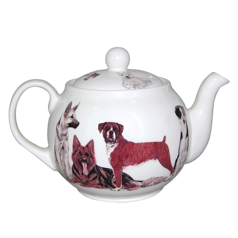Dogs Galore Teapot, 6-Cup