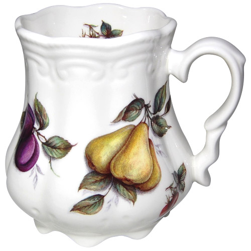 Scatter Fruit Victorian Tankard Mug