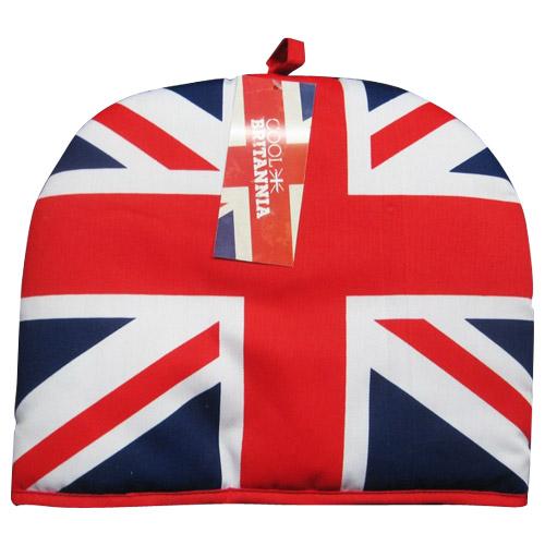 Knitting Pattern For Union Jack Tea Cosy : Union Jack Tea Cozy