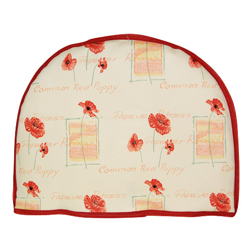 Edwardian Lady Poppies Tea Cozy