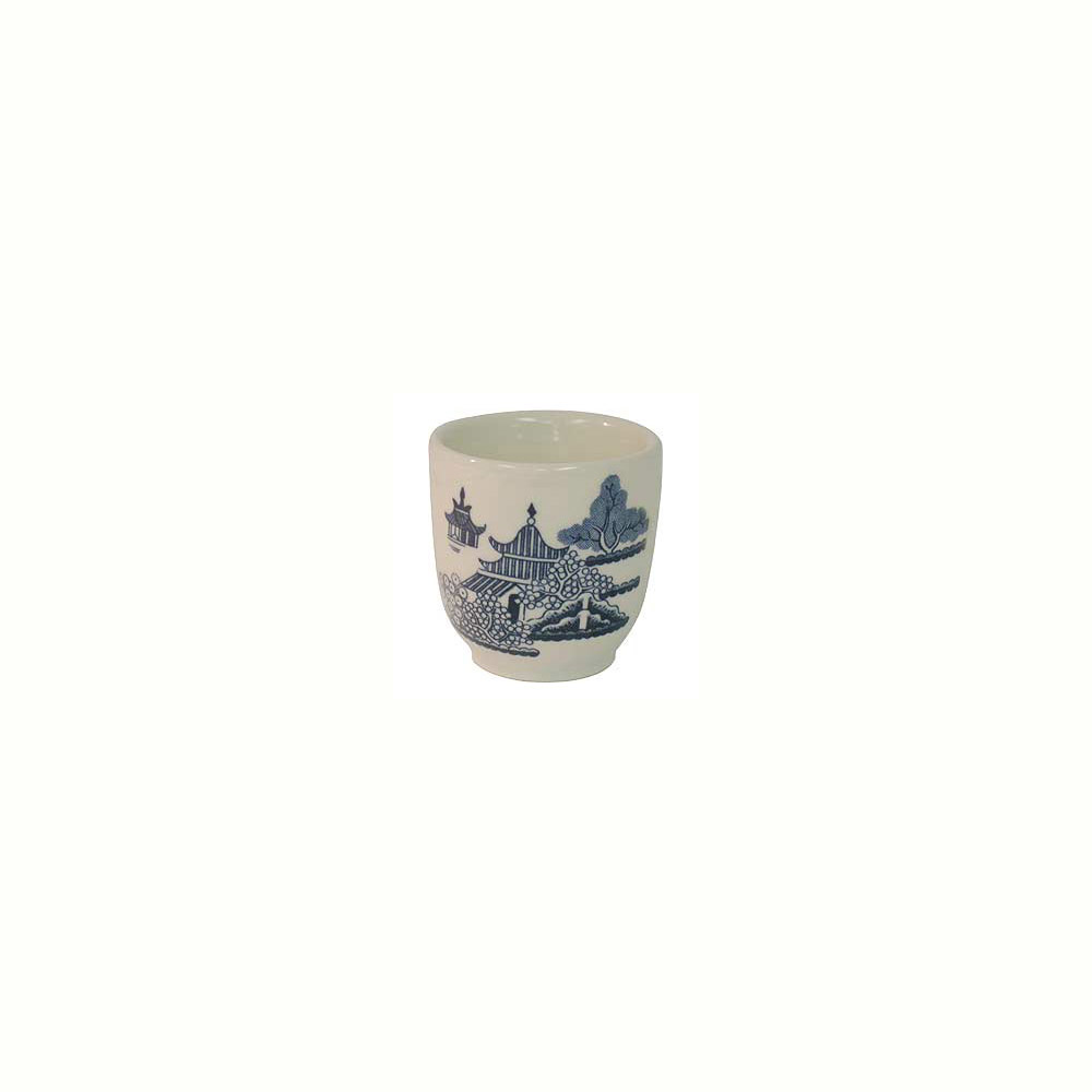 Churchill Blue Willow Ware, Egg Cup