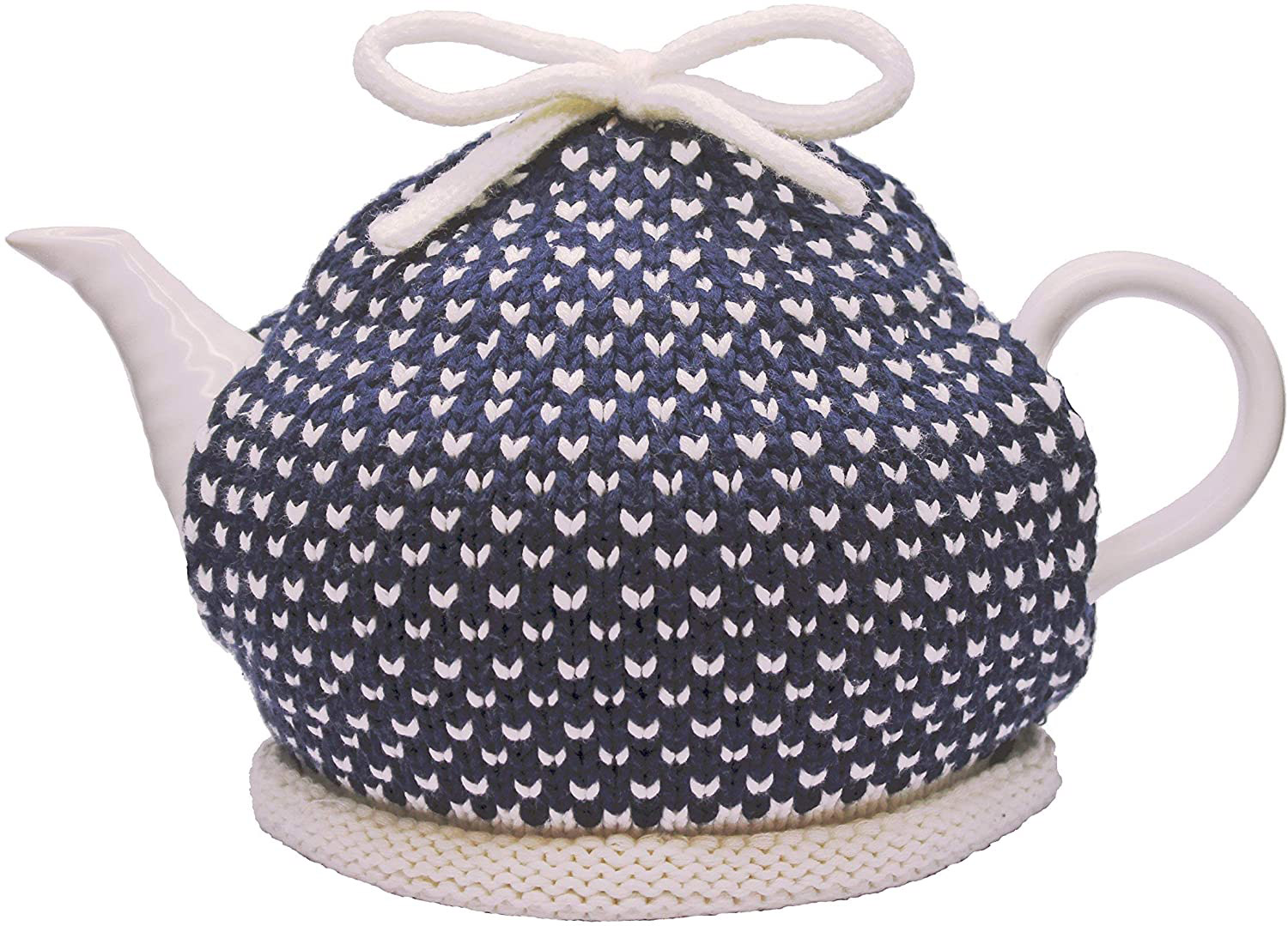 Knitted Tea Cozy Eszter, Blue