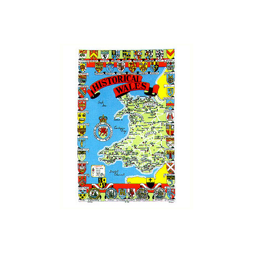Historical Wales, Tea Towel