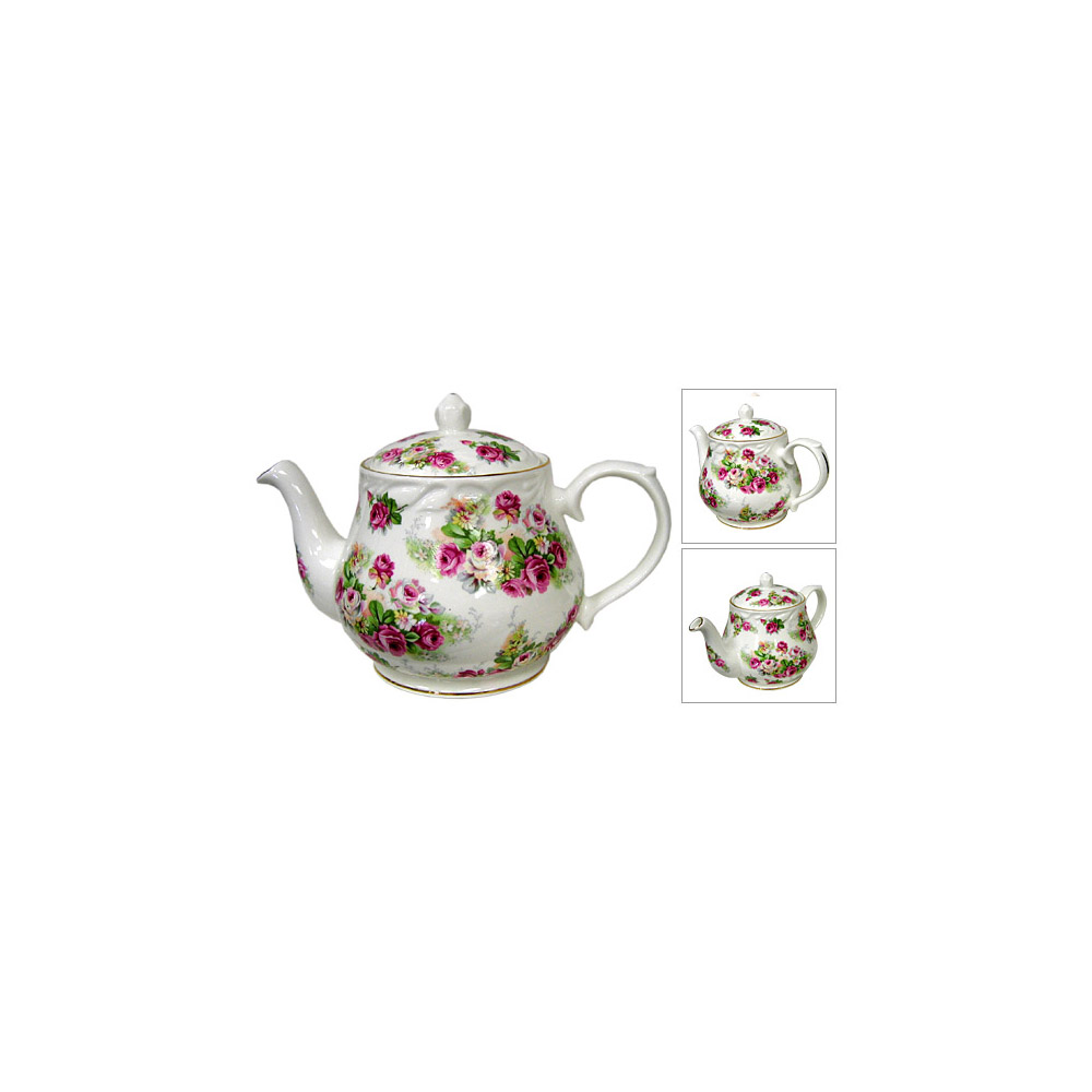 Royal Amber, Camille Semi Chintz, 4-Cup Teapot