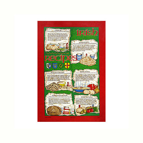 Irish Recipes, Tea Towel