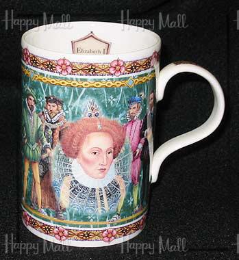 Queen Elizabeth Bone China Mug