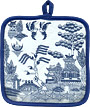 Blue Willow Ware - Pot Holder