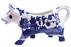 Blue Willow Ware - Blue Willow Cow Creamer