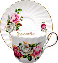 Tea Cup and Saucer, Grandmother