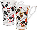Merriment Christmas Chintz Mug - Set of Two