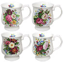 Balmoral Mug - Set of 4 Bone China Mugs
