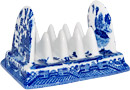 Blue Willow Ware Toast Rack