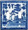Blue Willow Ware - Electric Cover for Double Switches