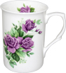 Purple Rose Tea Mug