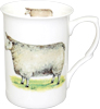 Sheep Mug, White Face