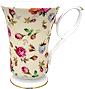 Antique Rose Chintz - Fine Bone China Mug
