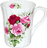Summertime Rose - Swirl Mug