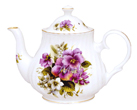 Pansy Bone China Teapot - 2 Cup