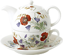 Tea for One Teapot Set - English Meadow