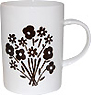 Flower Bouquet Bone China Mug