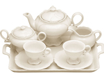 Children's Tea Set - Plain Porcelain