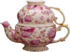 Tea for one, Pink Peony and Rose Chintz