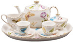 Karly's Butterflies Kids Tea Set, Gift Boxed