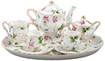 Madison's Secret Garden Kids Tea Set, Gift Boxed
