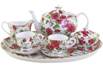 Little Girl's Tea Set - Pink Delight 10 Piece