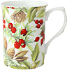 Pine Cone Chintz Bone China Mug