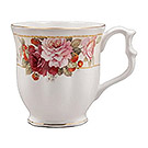Peony & Strawberry - Fine Bone China Tankard