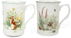 Bunny Bone China Mugs - Set of Two