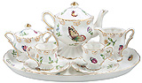 Olivia's Lively Garden Kids Tea Set, Gift Boxed