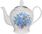 Forget-Me-Not Teapot - 6 Cup