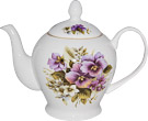 Pansy Teapot - 6 Cup