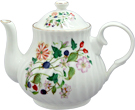 Hedgerow Teapot, 4-Cup